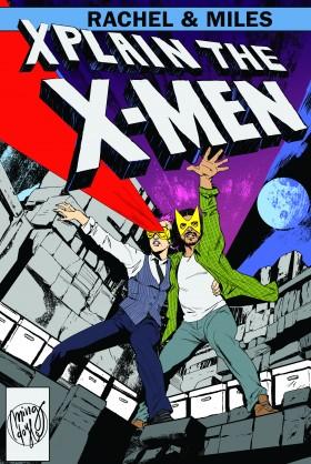 Rachel and Miles X-Men Cover